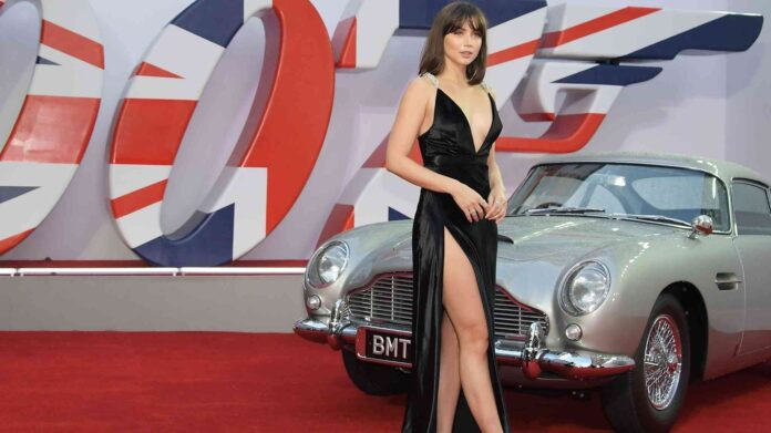 Ana de Armas la atracción en el estreno de James Bond