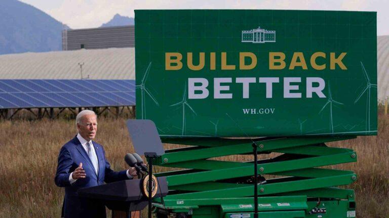 Biden recortará impuestos para unas 50 millones de familias