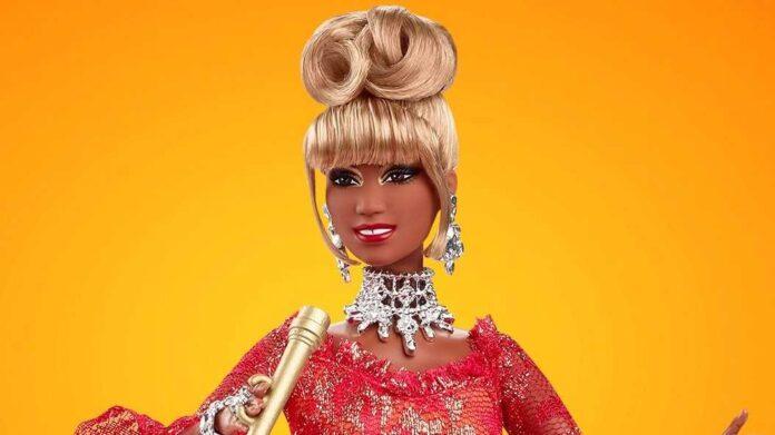 Celia Cruz reencarna como muñeca Barbie