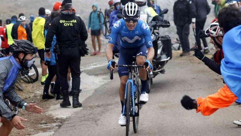 "Colombiano ""Superman"" López ganó 18ª etapa de la Vuelta a España"