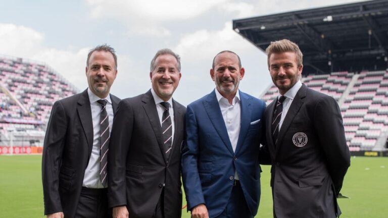 David Beckham es uno de los socios mayoritarios del Inter Miami CF de la MLS