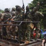 El ejército declaró un Golpe de Estado en Guinea.