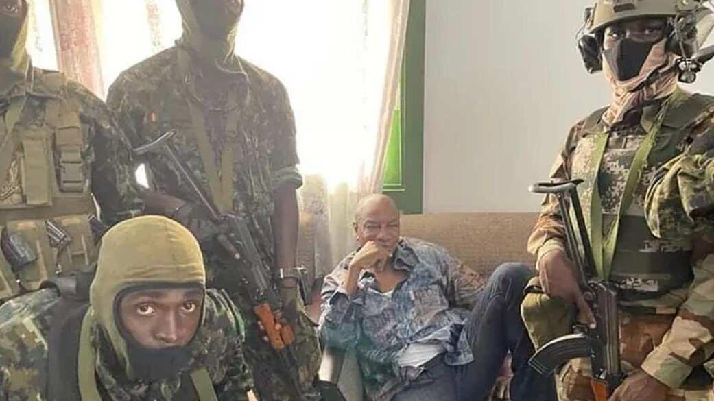 El ejército declaró un Golpe de Estado en Guinea