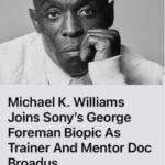 Encontraron muerto al actor Michael K. Williams.