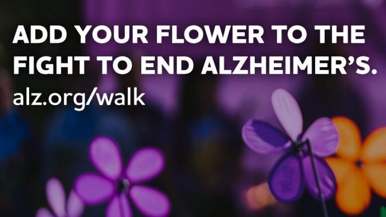 "Evento ""Walk to End Alzheimer's"" tiene fecha: 19 de septiembre"