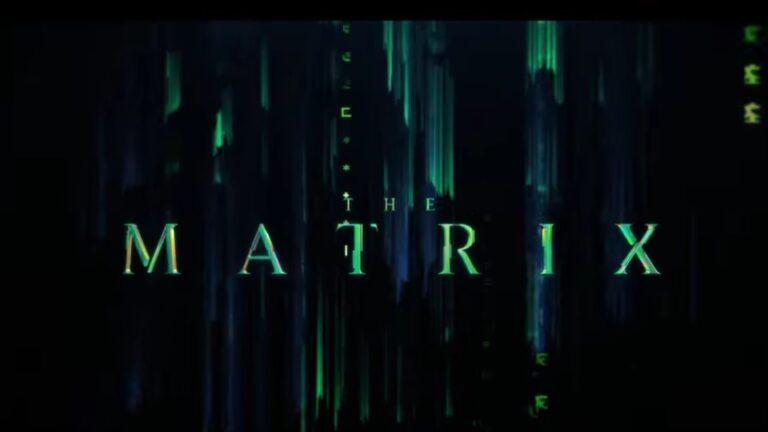 Lanzan el tráiler de The Matrix: Resurrections