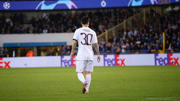 Lionel Messi en el Once titular del PSG
