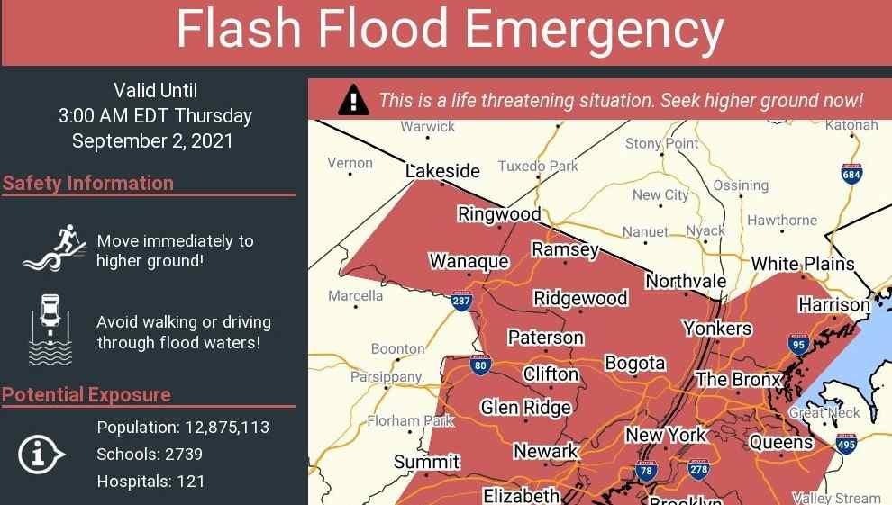 MTA limita transporte por fuertes inundaciones en Nueva York