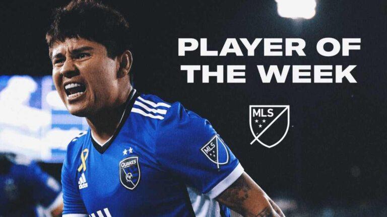 Mexicano Javier López: Jugador de la Semana en la MLS
