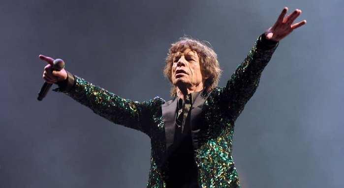 Mick Jagger visita Plaza Midwood antes de concierto