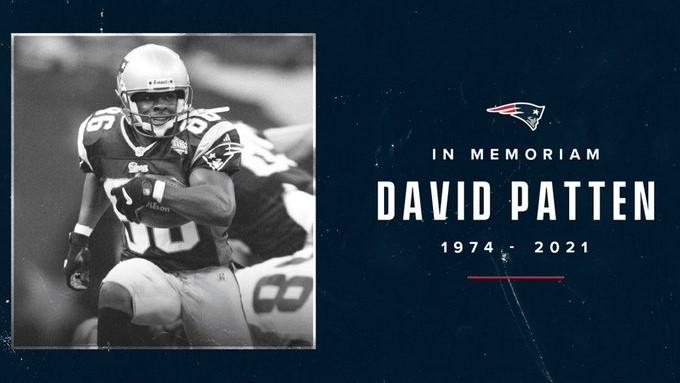 Muere David Patten, tres veces campeón del Super Bowl con Patriots