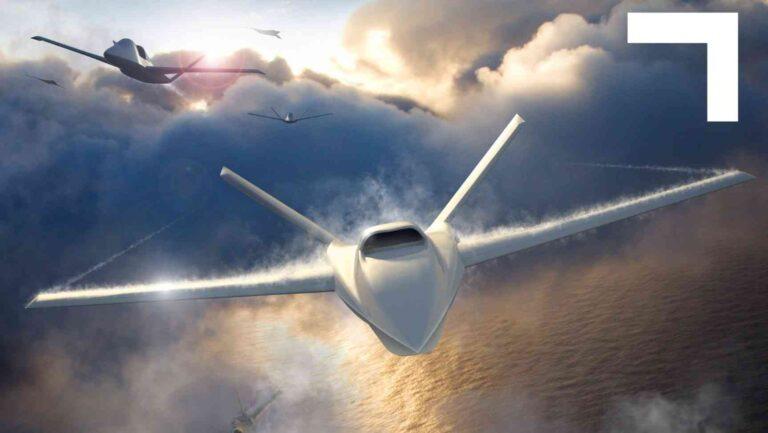 Nuevo dron que se empareja con aviones tripulados