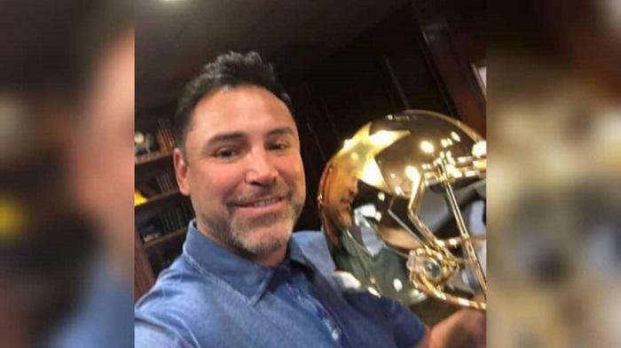 Oscar De La Hoya hospitalizado por COVID-19
