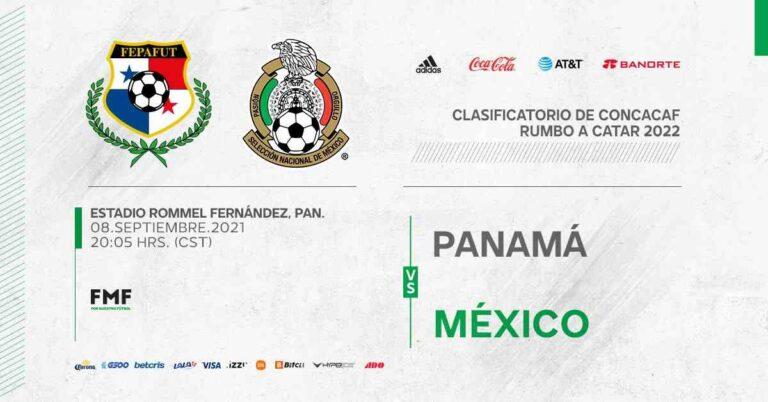 Panamá vs México se enfrentan rumbo a Catar 2022