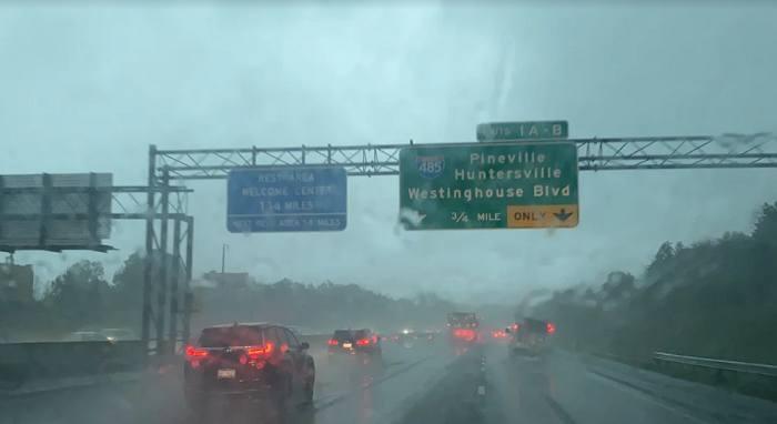 Remanentes de Ida traen lluvias y tormentas severas a Carolina del Norte