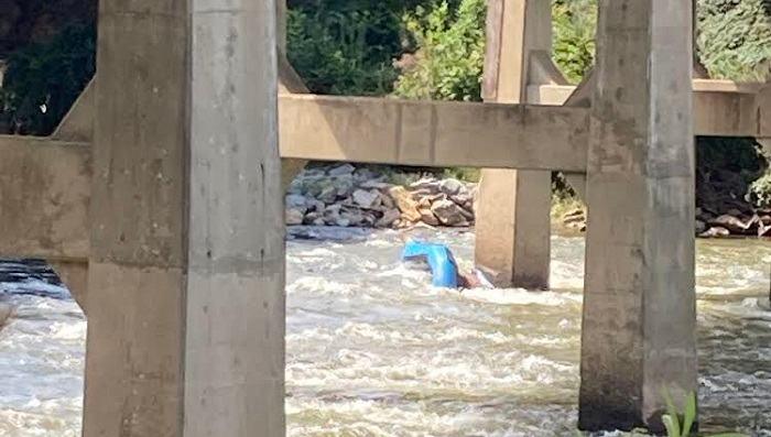 Rescatadas 12 personas en río de Asheville