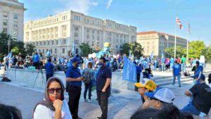 Tepesianos marchan en Washington DC y piden residencia permanente