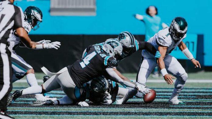 A los Panthers se les esfumó la victoria ante los Eagles