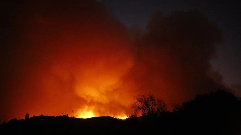 Alisal Fire crece rápidamente provocando evacuación en California