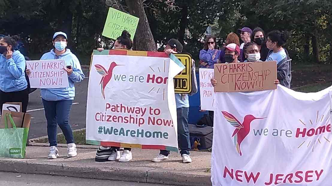 En Nueva Jersey piden a Kamala Harris apoyo a reforma migratoria