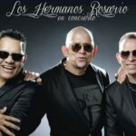 Los Hermanos Rosario en concierto en el Festival Latinoamericano