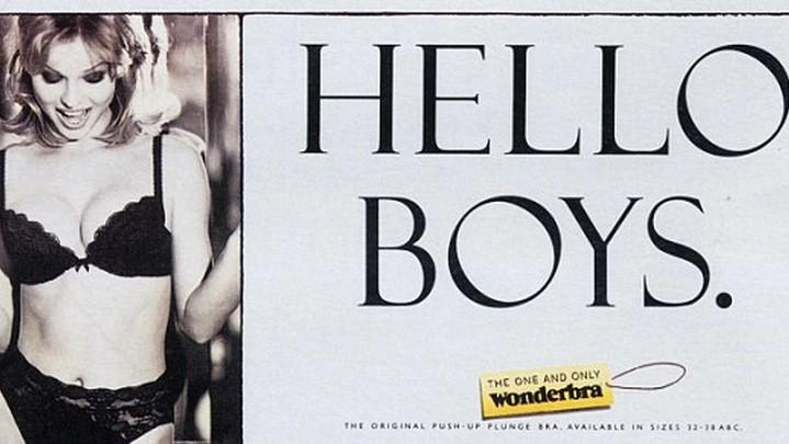 campaña publicitaria Hello Boys con la supermodelo Eva Herzigová